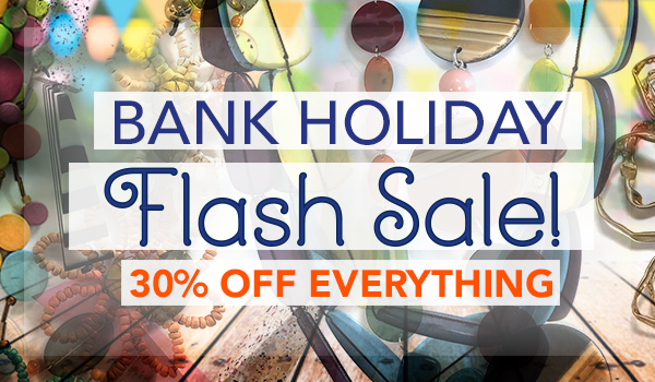 May Bank Holiday Weekend Flash SALE