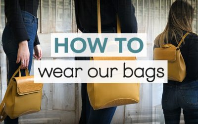 How to wear… our Lucerne Bag